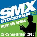 SMX Stockholm 2010 talare